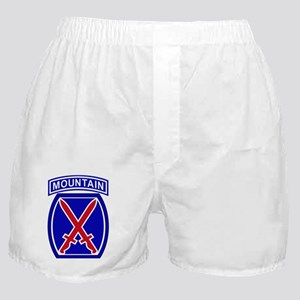 10th Infantry Division Boxer Shorts