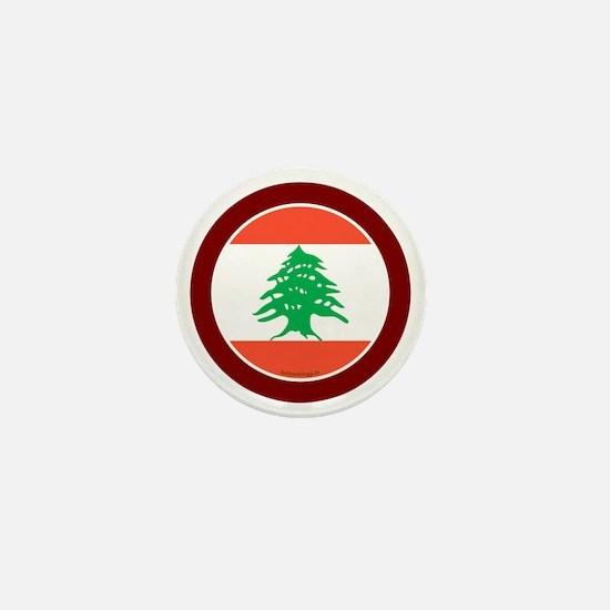 btn-flag-lebanon Mini Button