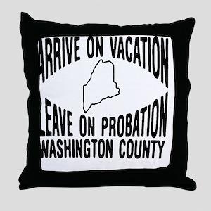 VacProbWB Throw Pillow