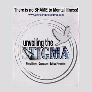 stigmaTback Throw Blanket