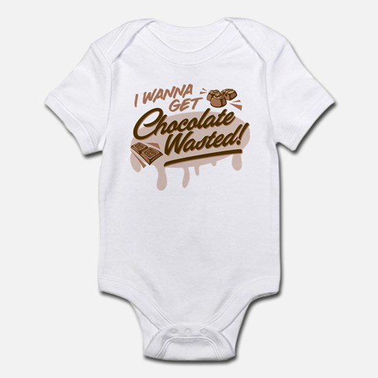 I Wanna Get Chocolate Wasted Body Suit