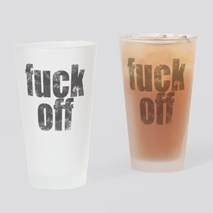 fuckoff Drinking Glass