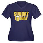Sunday Funday Plus Size T-Shirt