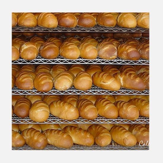 Fresh Bread Tile Coaster