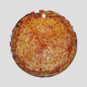 Pizza Round Ornament