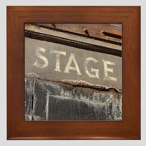 Stage Door Framed Tile