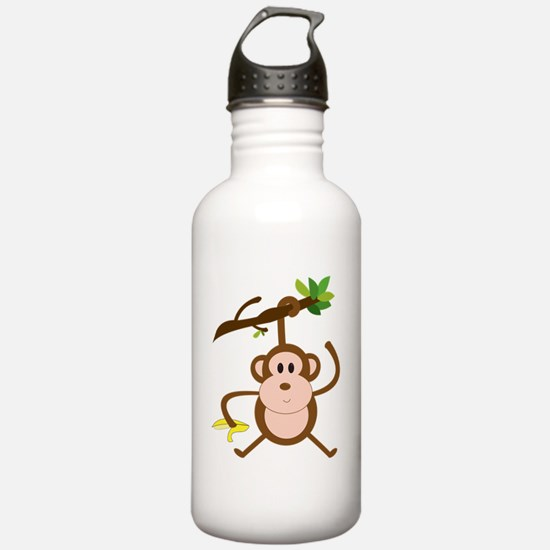 hanging monkey Water Bottle
