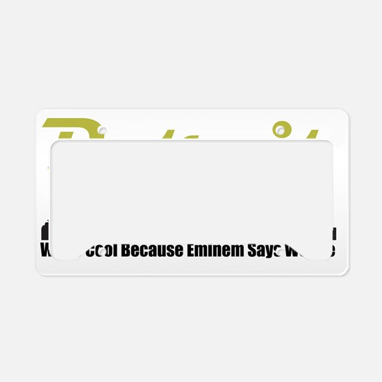 DetroitCool License Plate Holder