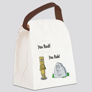 You Rock, You Rule Canvas Lunch Bag