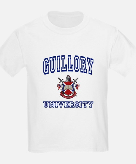 GUILLORY University Kids T-Shirt