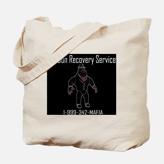 BIG DON RECOVERY SERVICE Tote Bag