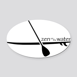 Zenonwater2 Oval Car Magnet