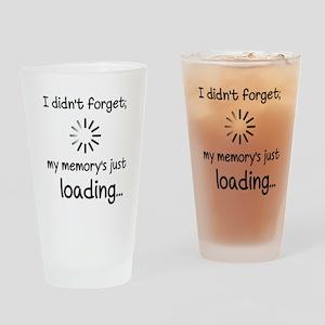 Memory Loading Drinking Glass