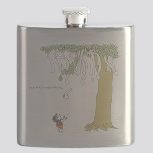 Toomers t shirts Flask