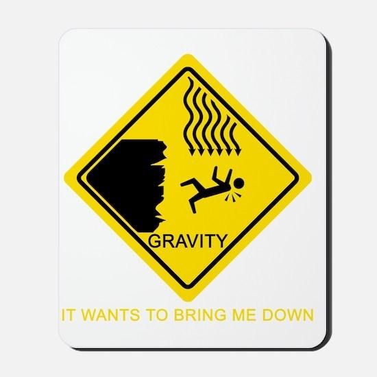Gravity-Yellow Mousepad