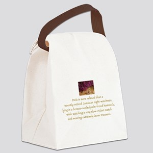 Deia Wittees (Jamaican) Canvas Lunch Bag