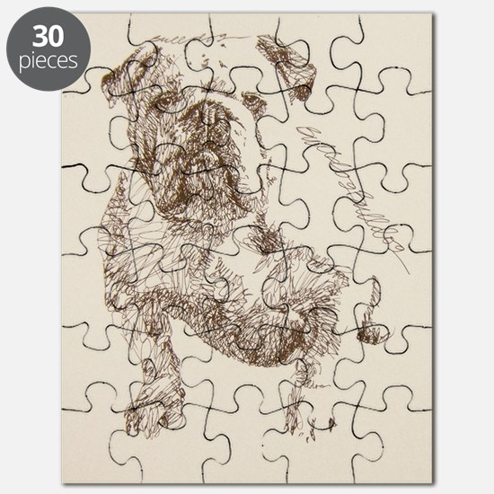 English_Bulldog_KlineSq Puzzle