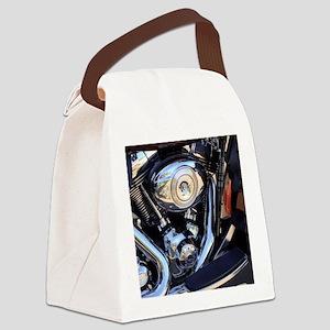 harleymotor Canvas Lunch Bag