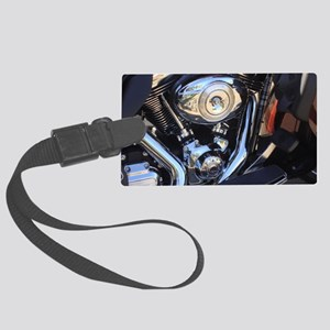 harleymotor Large Luggage Tag