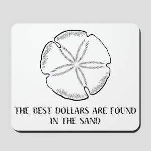 2-sanddollars Mousepad