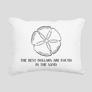 2-sanddollars Rectangular Canvas Pillow