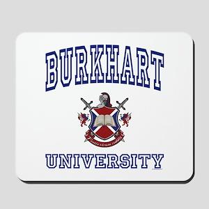 BURKHART University Mousepad