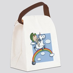 baby-lepr-unicrn-T Canvas Lunch Bag