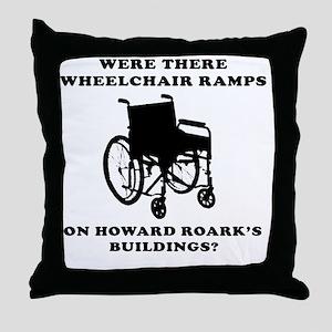 ROARKbig2 Throw Pillow