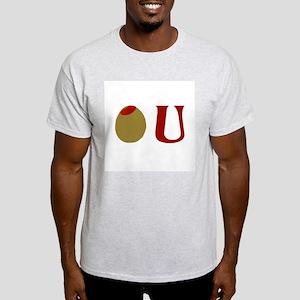 Olive U Ash Grey T-Shirt