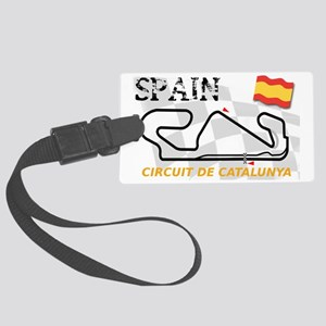 55x32spain Large Luggage Tag
