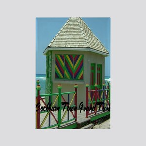 Grand Turk Cockburn Town2.91x4.58 Rectangle Magnet