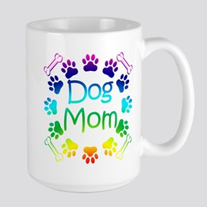 """Dog Mom"" Large Mug"