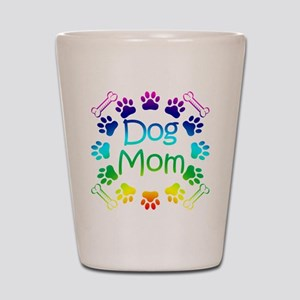 """Dog Mom"" Shot Glass"