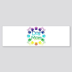 """Dog Mom"" Sticker (Bumper)"