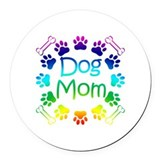 Pets Round Car Magnets
