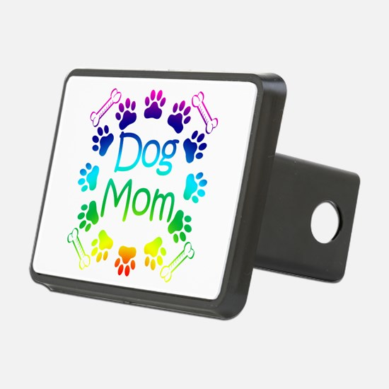 """Dog Mom"" Hitch Cover"