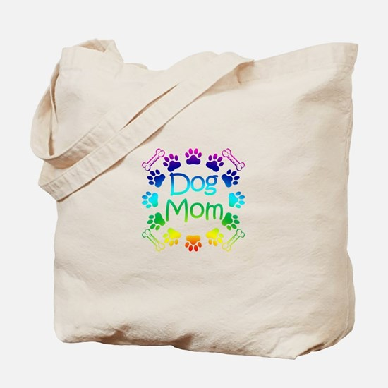"""Dog Mom"" Tote Bag"