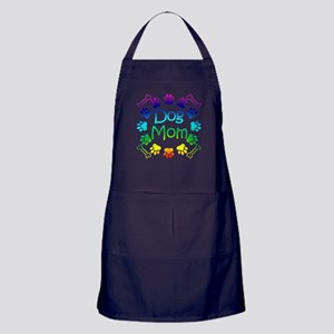 """Dog Mom"" Apron (dark)"