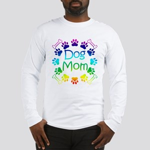 """Dog Mom"" Long Sleeve T-Shirt"