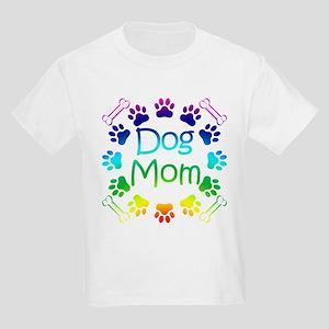 """Dog Mom"" Kids Light T-Shirt"
