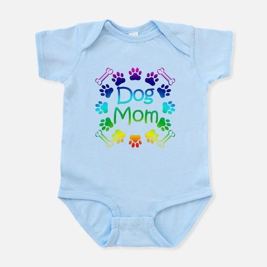 """""""Dog Mom"""" Infant Bodysuit"""