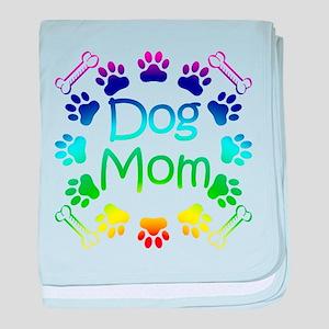 """""""Dog Mom"""" baby blanket"""
