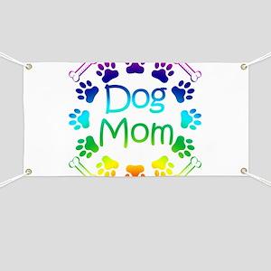 """Dog Mom"" Banner"