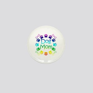 """Dog Mom"" Mini Button"
