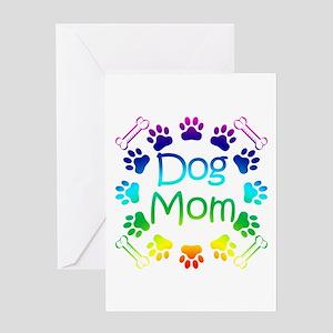 """Dog Mom"" Greeting Card"