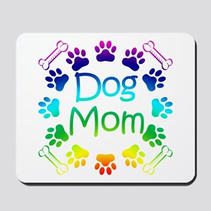 """Dog Mom"" Mousepad"