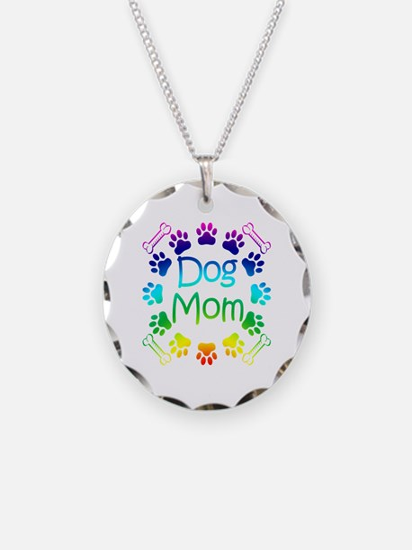 """Dog Mom"" Necklace"