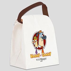 Hammy and Sammy Canvas Lunch Bag