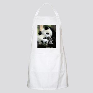 Chinese Love Little Pandas Apron