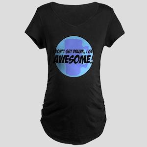 DRAWBlues Maternity Dark T-Shirt